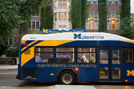 electric hybrid bus